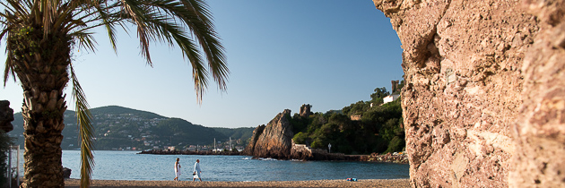 La Raguette beach Mandelieu-la napoule cote d'azur - French Riviera