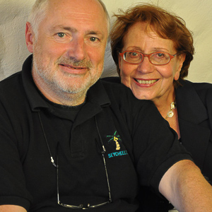 Jean-Paul and Martine Krebs - vacation rental owners - French Riviera